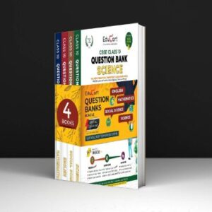 Educart Question Bank Class 10 Bundle of CBSE Science, Maths, SST & English 2022 ( All in one Combo Set Including 1000s of New term based MCQs)