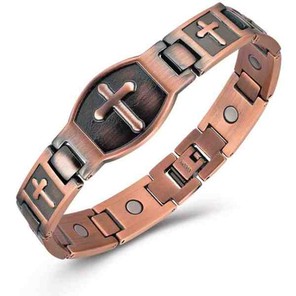 Gioieiieria-Copper-Bracelets-for-Men-Magnetic-Therapy-Bracelet-for-Relieve-Arthritis-Pain-99.9-Copper-Bracelet-with-3500-Gauss-Strong-Magnets-8.8-Inch-Link-Adjustable-Bracelets