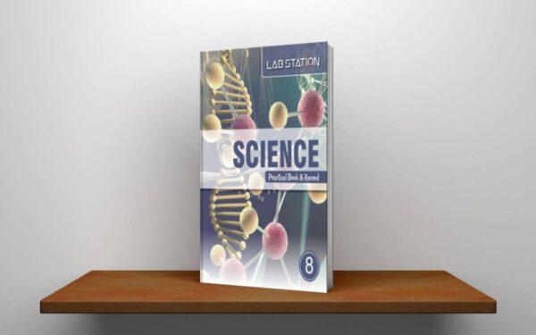 Harbour Press International Lab Station Science Practical Book & Record For Class 8