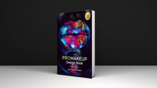 PROMakeup Design Book Includes 50 Face Charts By Lan Nguyen-Grealis