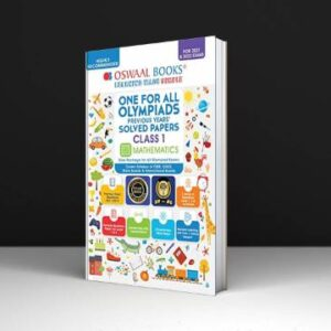 One for All Olympiad Previous Years Solved Papers, Class-1 Mathematics Book (For 2022 Exam) PDF