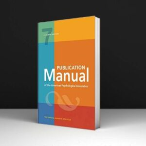 Publication Manual of the American Psychological Association Download PDF